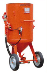 PROTECH Sandblasting Machine With Pneumatic Remote Control